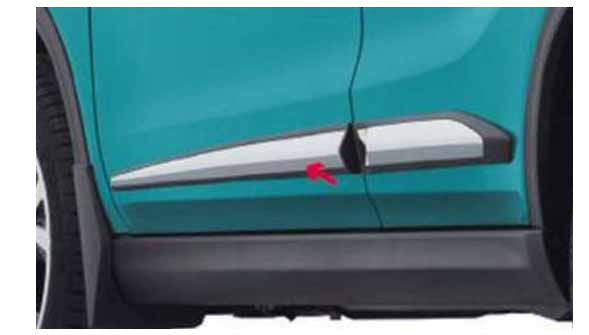 『エスクード』 純正 YD21S YE21S サイドボディモール(クロームメッキ) 1台分4枚セット パーツ スズキ純正部品 メッキ escudo オプション アクセサリー 用品