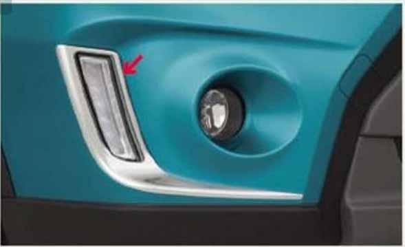 『エスクード』 純正 YD21S YE21S LEDイルミネーションベゼルのみ(クロームメッキ)左右セット パーツ スズキ純正部品 メッキ escudo オプション アクセサリー 用品