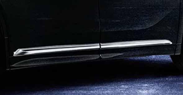 『ヴェルファイア』 純正 GGH30W サイドガーニッシュ メッキ パーツ トヨタ純正部品 サイドモール サイドパネルサイドモール サイドパネル vellfire オプション アクセサリー 用品