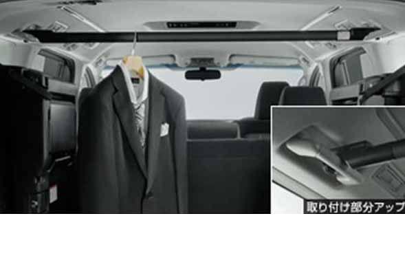『ヴェルファイア』 純正 GGH30W ハンガーパイプ 横型 パーツ トヨタ純正部品 vellfire オプション アクセサリー 用品