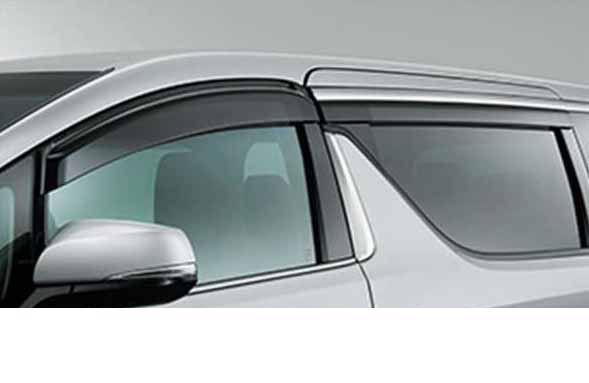 『ヴェルファイア』 純正 GGH30W サイドバイザー RVワイド タイプ1 パーツ トヨタ純正部品 ドアバイザー 雨よけ 雨除け vellfire オプション アクセサリー 用品