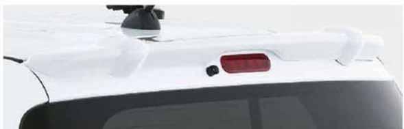 ルーフエンドスポイラー ラパン HE33S スズキ純正 ルーフスポイラー リアスポイラー lapin パーツ 部品 オプション