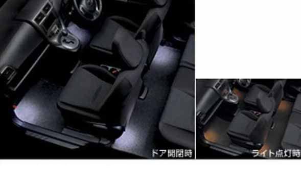 『ラクティス』 純正 NCP120 NCP125 NSP120 インテリアイルミネーション 2モードタイプ パーツ トヨタ純正部品 照明 明かり ライト ractis オプション アクセサリー 用品