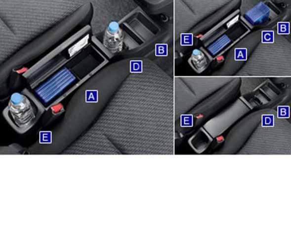 『ラクティス』 純正 NCP120 NCP125 NSP120 コンソールボックス パーツ トヨタ純正部品 ractis オプション アクセサリー 用品