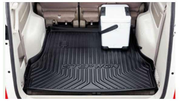 『ステップワゴン』 純正 RP1 ラゲッジトレイ(ブラック/縁高タイプ) パーツ ホンダ純正部品 STEPWGN オプション アクセサリー 用品
