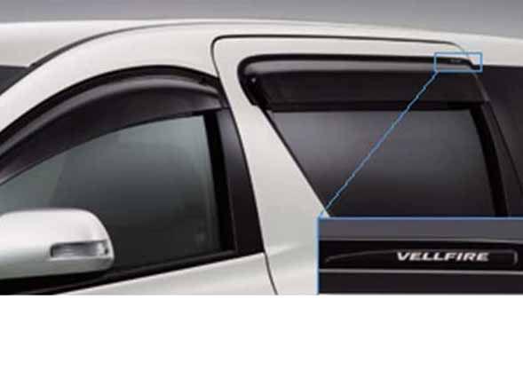 『ヴェルファイア』 純正 GGH20 ANH20 GGH25 サイドバイザー RVワイド パーツ トヨタ純正部品 ドアバイザー 雨よけ 雨除け vellfire オプション アクセサリー 用品