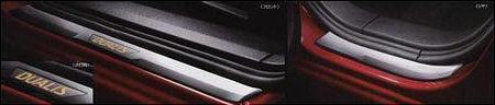 キッキングプレート(イルミネーション機能付き) MRWP0 デュアリス KJ10 KNJ10