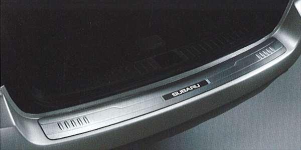 『レガシィ』 純正 BPE BP5 BLE BL5 BP9 カーゴステップパネル(ステンレス) アウトバック用 パーツ スバル純正部品 リアバンパーガーニッシュ リアバンパーカバー legacy オプション アクセサリー 用品