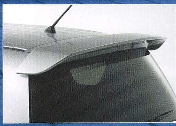 old003 『アウトランダー』 純正 CW5W 大型テールゲートスポイラー パーツ 三菱純正部品 ルーフスポイラー リアスポイラー リヤスポイラー outlander オプション アクセサリー 用品