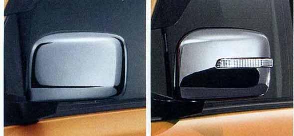 『スペーシア』 純正 MK32S ドアミラーカバー パーツ スズキ純正部品 メッキ サイドミラーカバー カスタム spacia オプション アクセサリー 用品