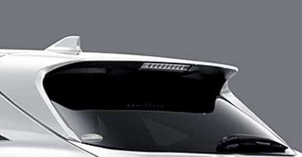 『ハリアー』 純正 AVU65W リヤスポイラー ※ナビ+JBL+バックガイドモニター有用 パーツ トヨタ純正部品 ルーフスポイラー リアスポイラー harrier オプション アクセサリー 用品
