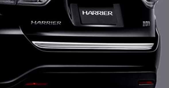 『ハリアー』 純正 AVU65W バックドアガーニッシュ パーツ トヨタ純正部品 harrier オプション アクセサリー 用品