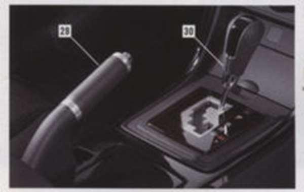 『アテンザ』 純正 GHEFP GH5FP GH5AP パーキングブレーキレバー(本革/アルミ) パーツ マツダ純正部品 atenza オプション アクセサリー 用品