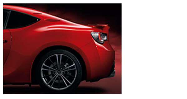『86』 純正 ZN6 エアロスタビライジングフィン パーツ トヨタ純正部品 オプション アクセサリー 用品