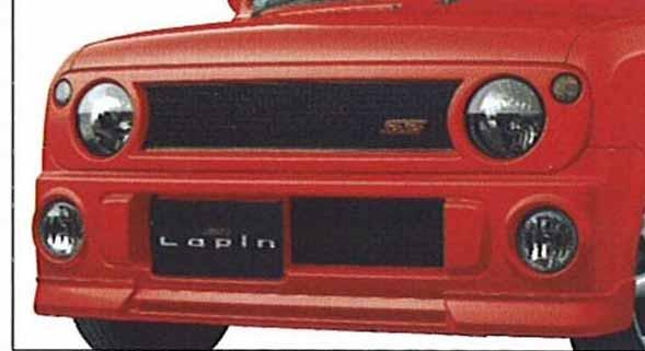 『ラパン』 純正 HE21 フロントアンダースポイラー パーツ スズキ純正部品 フロントスポイラー カスタム エアロ lapin オプション アクセサリー 用品