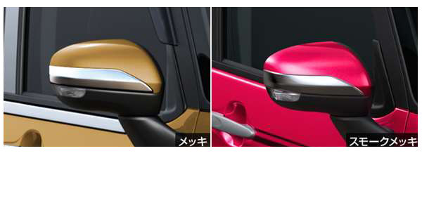 『タンク』 純正 M900A M910A ドアミラーカバーガーニッシュ パーツ トヨタ純正部品 サイドミラーカバー カスタム オプション アクセサリー 用品