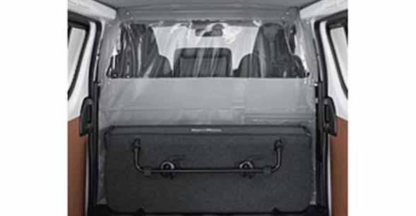 【ハイエース】純正 TRH211 TRH216 ルームセパレーターカーテン 1 パーツ トヨタ純正部品 hiace オプション アクセサリー 用品