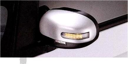 『アイ』 純正 HA1W MOMOミラーカバー(ターンランプ内臓) パーツ 三菱純正部品 オプション アクセサリー 用品