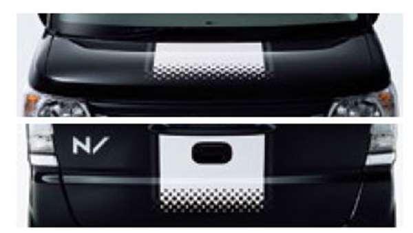 『NBOX SLASH』 純正 JF1 デカールセンターストライプ パーツ ホンダ純正部品 ステッカー シール ワンポイント オプション アクセサリー 用品
