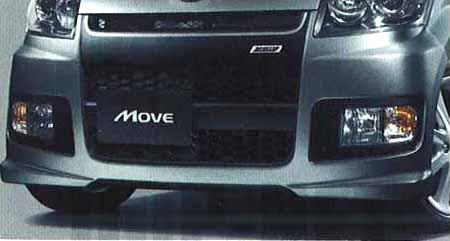 エアロフロントバンパー(SPORZA)(車体色対応) 08130-K2000-C1 ムーヴ L175S