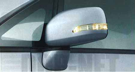 ターンランプ付電動格納式ドアミラーセット(車体色対応) 08652-K2000-C1 ムーヴ L175S