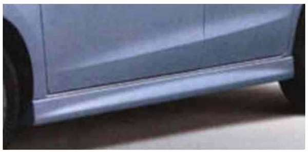 『アルト』 純正 HA25S サイドアンダースポイラー パーツ スズキ純正部品 サイドスポイラー カスタム エアロ alto オプション アクセサリー 用品