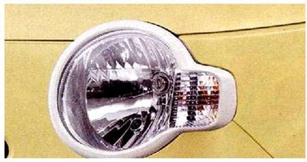ヘッドランプガーニッシュ 08400-K2068-A4 ミラココア L675S L685S