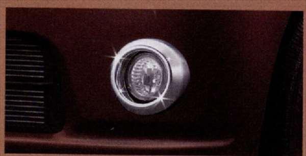 ハロゲンフォグランプキット(メッキ) 本体 *本体のみハーネスキット別売 ミラココア L675S L685S