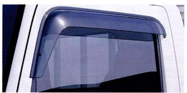 『タイタンダッシュ』 純正 SYE4T SYE6T アクリルバイザー シングルキャビンフロント用 左右セット パーツ マツダ純正部品 サイドバイザー ドアバイザー Titan オプション アクセサリー 用品