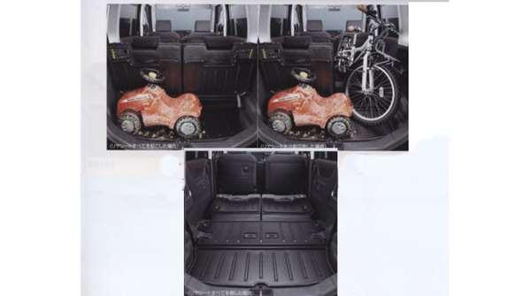 『ルークス』 純正 ML21S ラゲッジトレイ KAWN0 ∞ パーツ 日産純正部品 ROOX オプション アクセサリー 用品