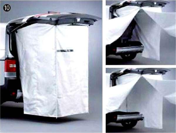 『デリカD:5』 純正 CV4W プライベートカーテン パーツ 三菱純正部品 DELICA オプション アクセサリー 用品