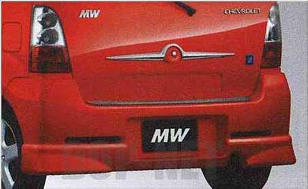 リヤアンダースポイラー シボレーMW ME34S スズキ純正 リアスポイラー カスタム エアロ Chevroletmw パーツ 部品 オプション
