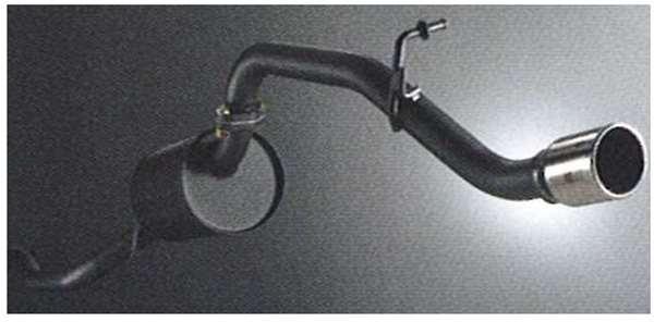 スポーツマフラー(RALLIART) ekワゴン H82W 三菱純正 排気 パワーアップ 重低音 パーツ 部品 オプション