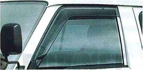 『バネット』 純正 S21 プラスチックバイザー(スモークタイプ:フロント左右セット) PDHJ0 PDHJ0 パーツ 日産純正部品 ドアバイザー サイドバイザー VANETTE オプション アクセサリー 用品