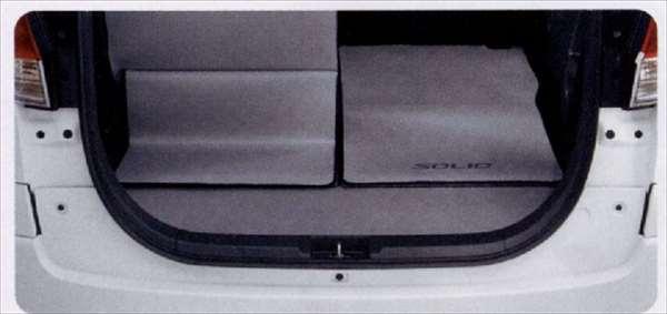 『ソリオ』 純正 MA15S ラゲッジマット(ウエットスーツ生地) リヤスライドシート用 パーツ スズキ純正部品 ラゲージマット 荷室マット 滑り止め solio オプション アクセサリー 用品