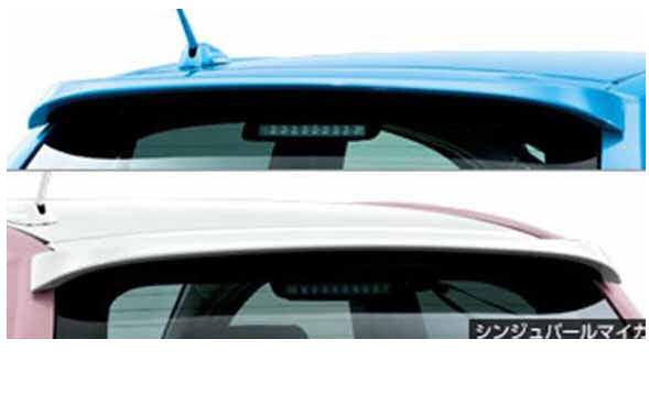 『パッソ』 純正 KGC30 リヤスポイラー +Hana用ホワイトパール パーツ トヨタ純正部品 ルーフスポイラー リアスポイラー passo オプション アクセサリー 用品