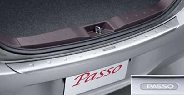 『パッソ』 純正 KGC30 リヤバンパーステップガード パーツ トヨタ純正部品 passo オプション アクセサリー 用品