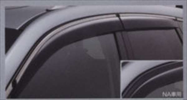 ドアバイザー ターボ 1台分 フォレスター SJ5 SJG