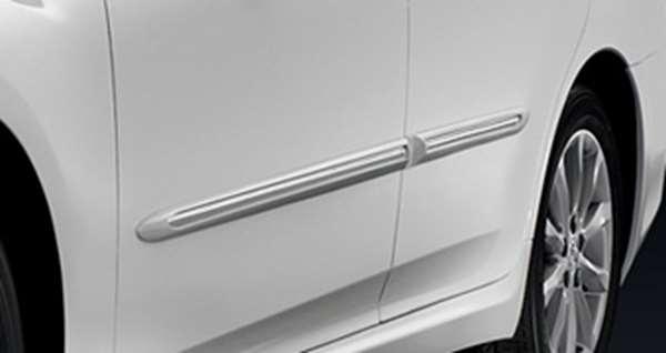 『クラウンロイヤル』 純正 GRS200 サイドプロテクションモール メッキタイプ パーツ トヨタ純正部品 サイドモール サイドパネル crown オプション アクセサリー 用品