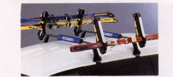 『デリカスペースギア』 純正 PD6W スキーアタッチメント(サイド積み) パーツ 三菱純正部品 キャリア別売り DELICA オプション アクセサリー 用品