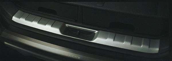 『エクストレイル』 純正 T31 NT31 TNT31 ラゲッジキッキングプレート GBWV1 パーツ 日産純正部品 スカッフプレート ステップ 保護 X-TRAIL オプション アクセサリー 用品