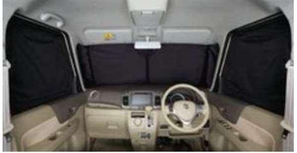 フロントプライバシーシェード(メッシュ付) スペーシア MK42S