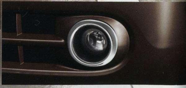 フォグランプフィニッシャー(クロームメッキ) G5PL0 キューブ Z12 NZ12