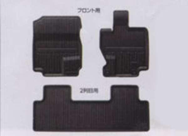 『フリード』 純正 GB3 GB4 ラバーマット 縁高タイプ用の フロント部分左右のみ パーツ ホンダ純正部品 ゴムマット フロアマット FREED オプション アクセサリー 用品