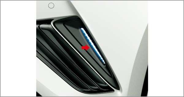 『C-HR』 純正 ZYX10 NGX50 LEDスタイリッシュビーム パーツ トヨタ純正部品 照明 明かり ライト オプション アクセサリー 用品