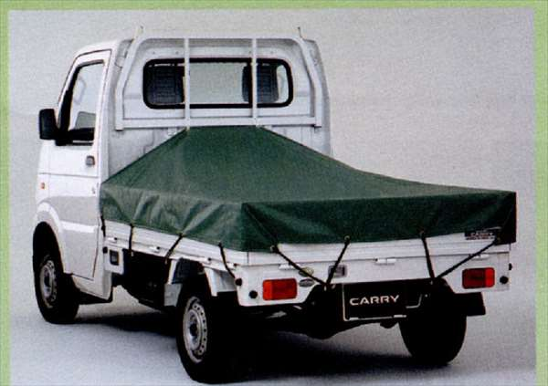 『キャリイ』 純正 DA63T DA65T スロープ式平シート パーツ スズキ純正部品 荷台シート carry オプション アクセサリー 用品