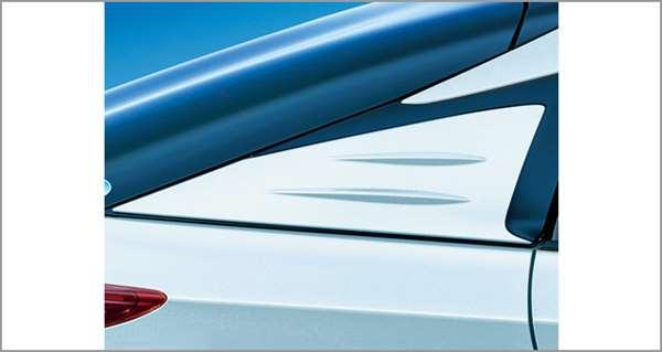 『プリウスPHV』 純正 ZVW52 ピラーガーニッシュ(Cピラー) パーツ トヨタ純正部品 エアロパーツ オプション アクセサリー 用品