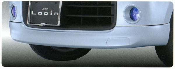 『ラパン』 純正 HE22S フロントアンダースポイラー パーツ スズキ純正部品 フロントスポイラー カスタム エアロ lapin オプション アクセサリー 用品