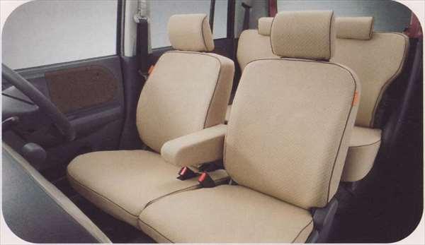 シートカバー ワッフル(サイドエアバッグ無車用) ラパン HE22S