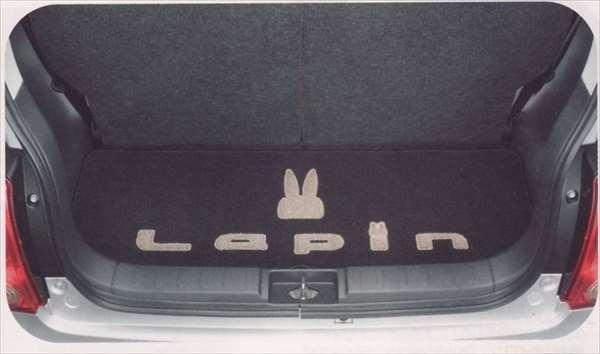『ラパン』 純正 HE22S ラゲッジマット(立体ウサギマーク付) パーツ スズキ純正部品 ラゲージマット 荷室マット 滑り止め lapin オプション アクセサリー 用品